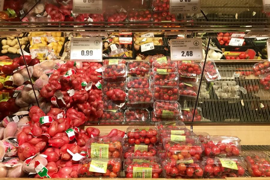 Какие цены на продукты в Италии