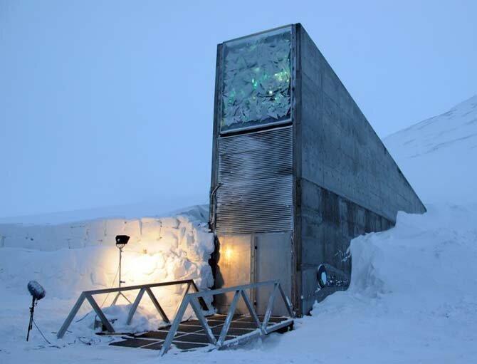 2. Хранилище Судного дня, Норвегия Запретка, история, факты, фото