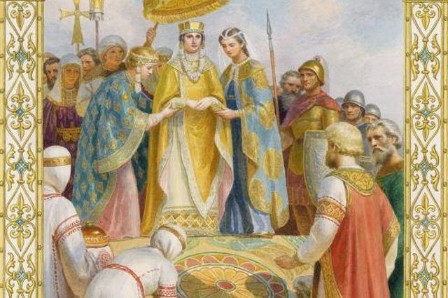 Неравный брак. Как Багрянородную Анну выдали за «варвара» — князя Владимира