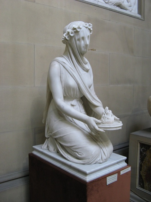 Рафаэль Монти. «Весталка», 1847г.
