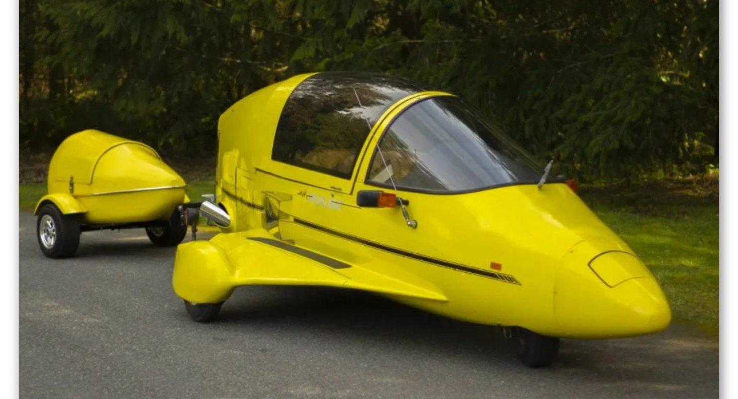 Необычный мотоцикл — Pulse Autocycle Исследования