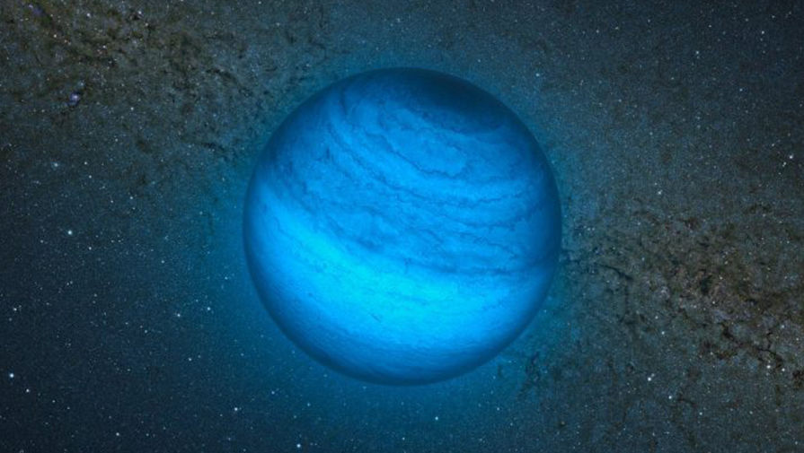 Изолированный атипичный субзвездный объект