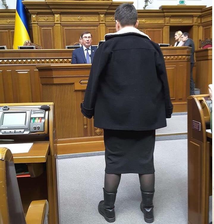Золотая акция Савченко