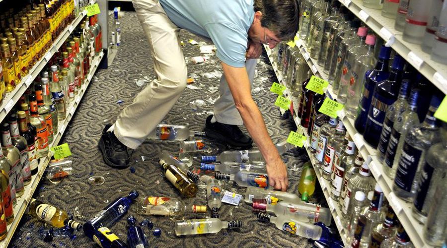За разбитый в супермаркете товар вы не обязаны платить