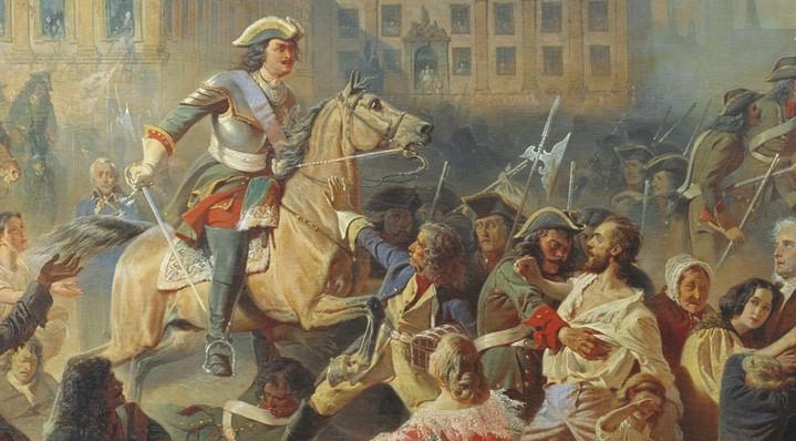 Эпоха Петра Великого. Кровавая драма Прибалтики и Литовской Руси