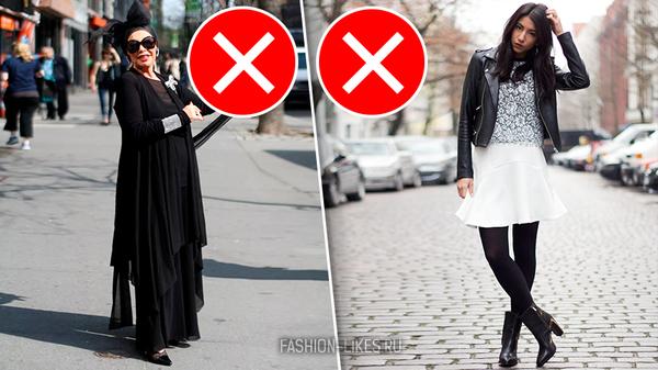 7 главных ошибок, которые допускают многие женщины, когда носят черный цвет