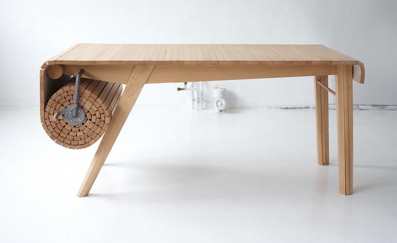 Необычные столы-трансформеры: 5 крутых примеров