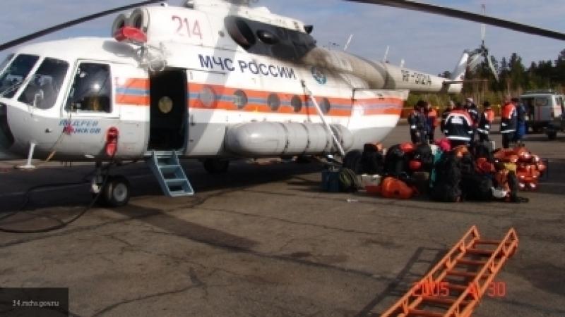 Спасатели подтвердили гибель пилота в результате крушения вертолета под Астраханью