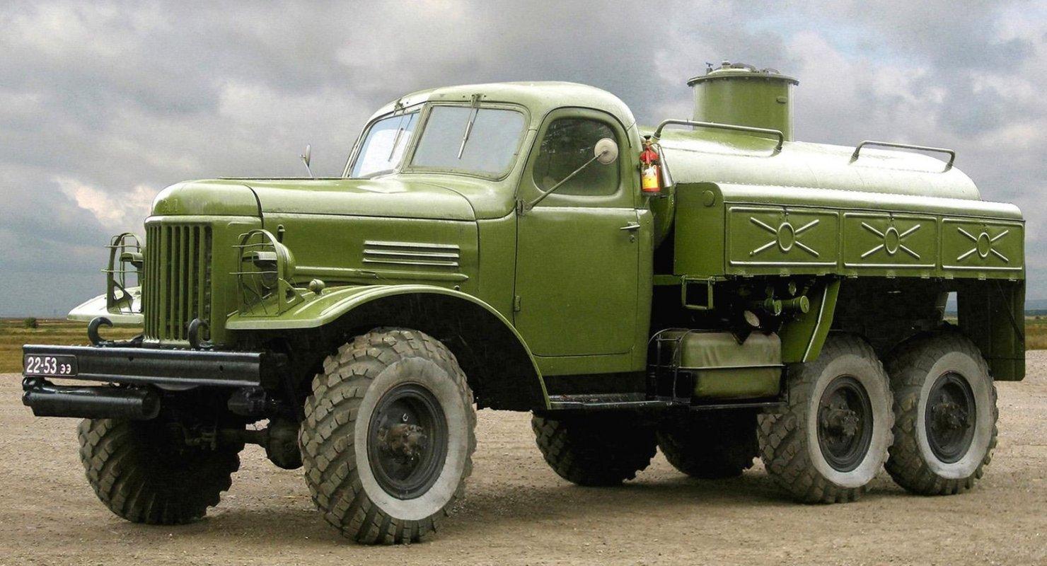 ТОП-3 знаменитых советских военных грузовиков Исследования