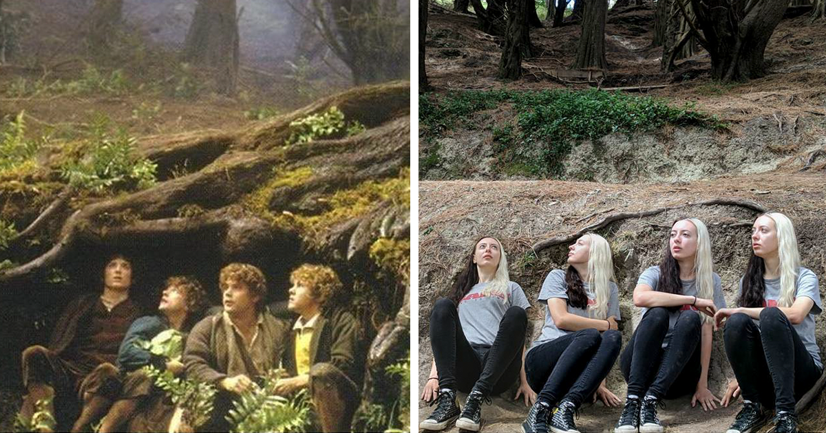 I Recreated Some 'Lord Of The Rings' Scenes On My Recent Trip To New Zealand, Here's The Result