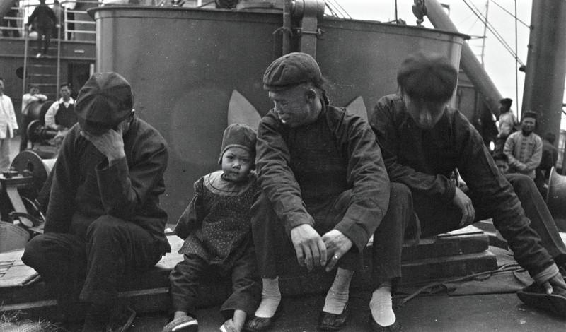 """Японское море, 1904 г. Пассажиры парохода """"Сибирь"""" на пути в Иокагаму джек лондон, история, фото"""