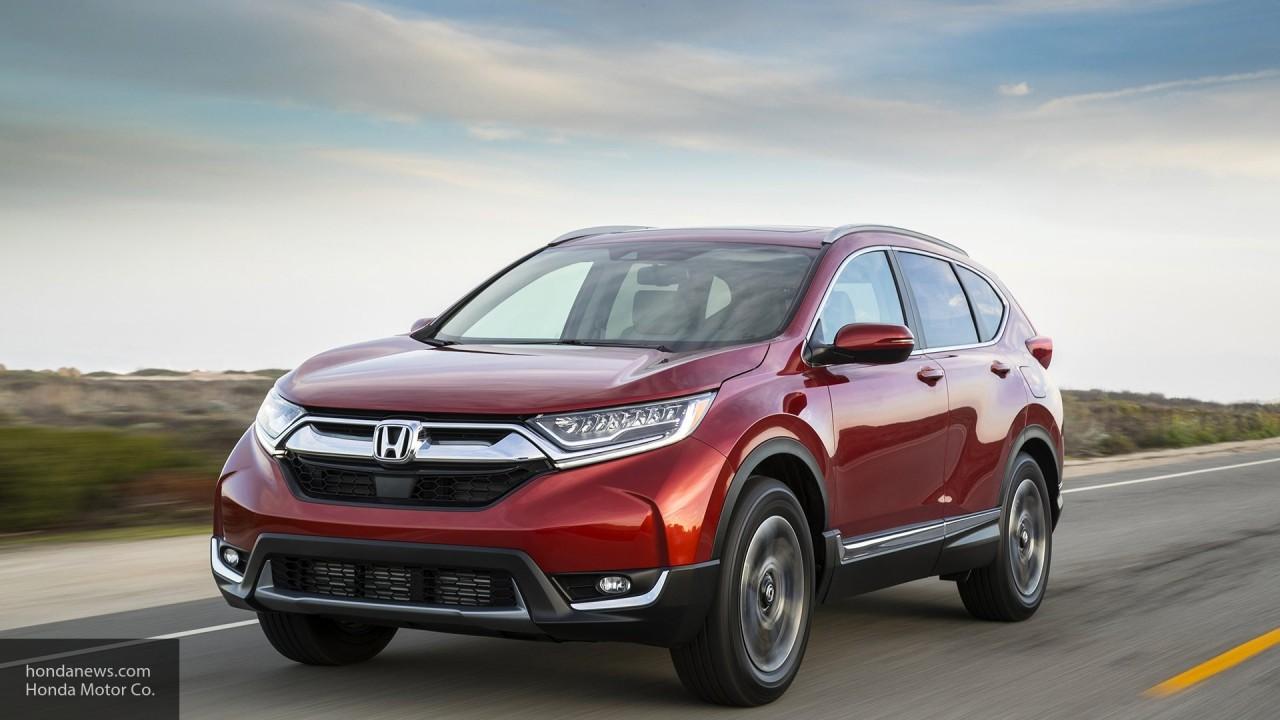Компания Honda официально представила обновленный кроссовер CR-V