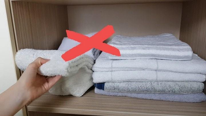Компактно хранить - удобно доставать. А вы правильно складываете полотенца?