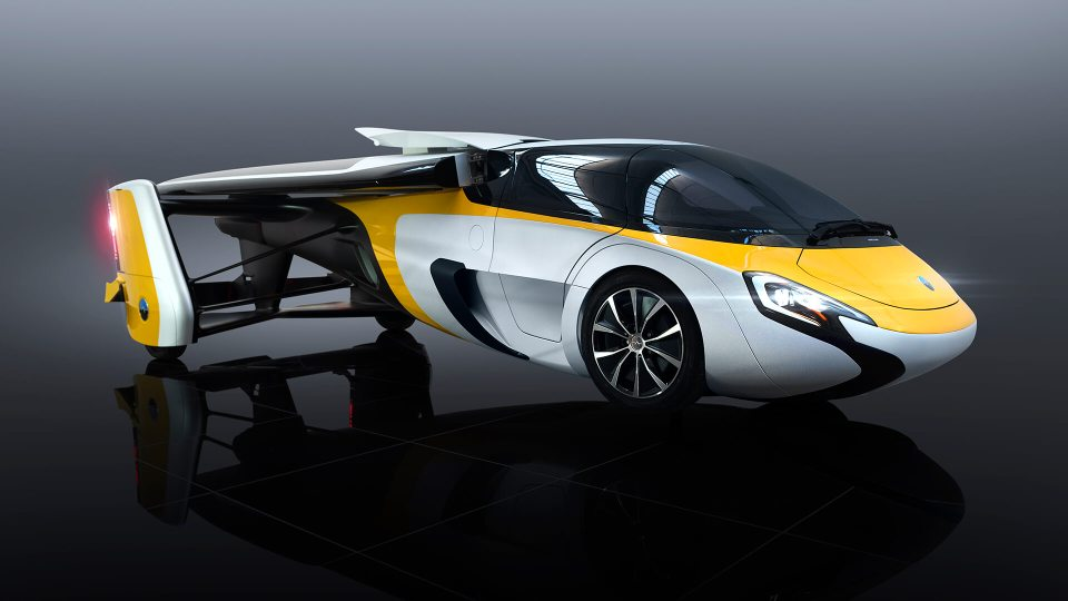 Летающий автомобиль AeroMobi…