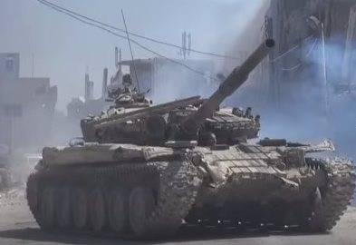 Под Дамаском замечены танки с тепловизионными прицелами Viper