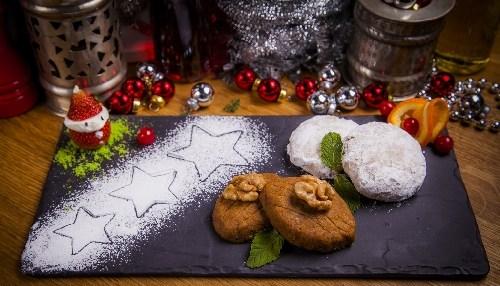 Три греческих рождественских десерта