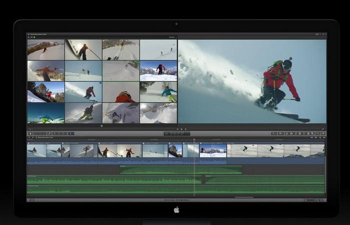 Приложение Apple Final Cut ProX.