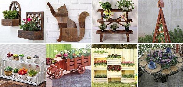 «Деревянные» идеи для дачи — просто, оригинально, мило!