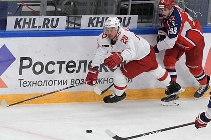 Хоккеист «Спартака» рассказал о влиянии перенесенного коронавируса на сердце