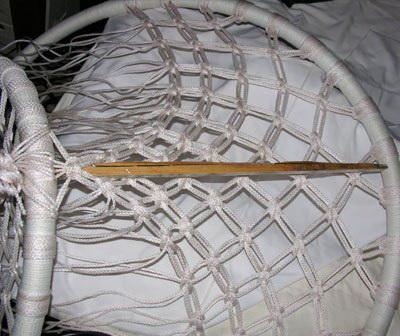 Плетем круглое кресло-гамак своими руками для дома и дачи,кресло