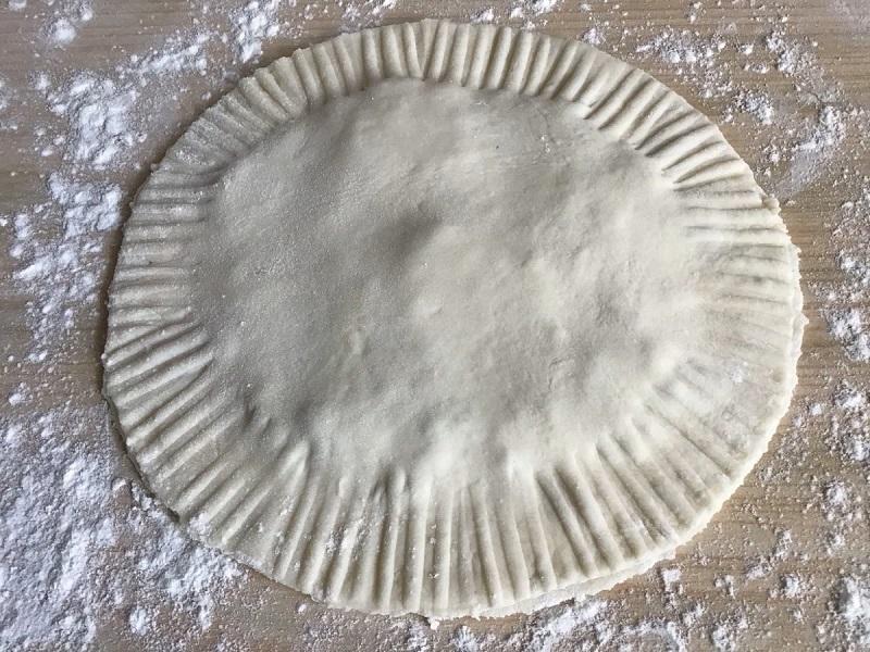сформированная лепешка