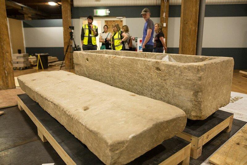 Британский римский саркофаг IV века уже в музее археология, загадки, история, расследование