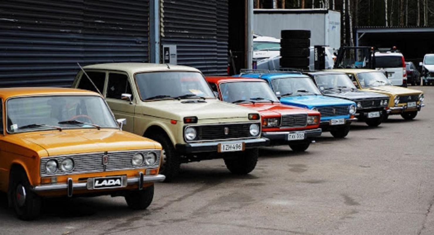 На территории Финляндии заработал прокат советских «Жигулей» и «Нив» Автомобили