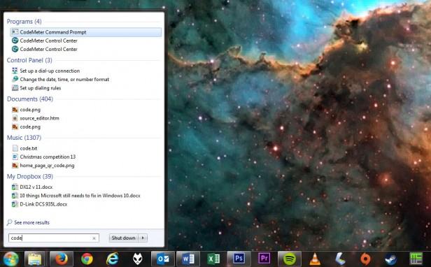 Windows 7 поиск