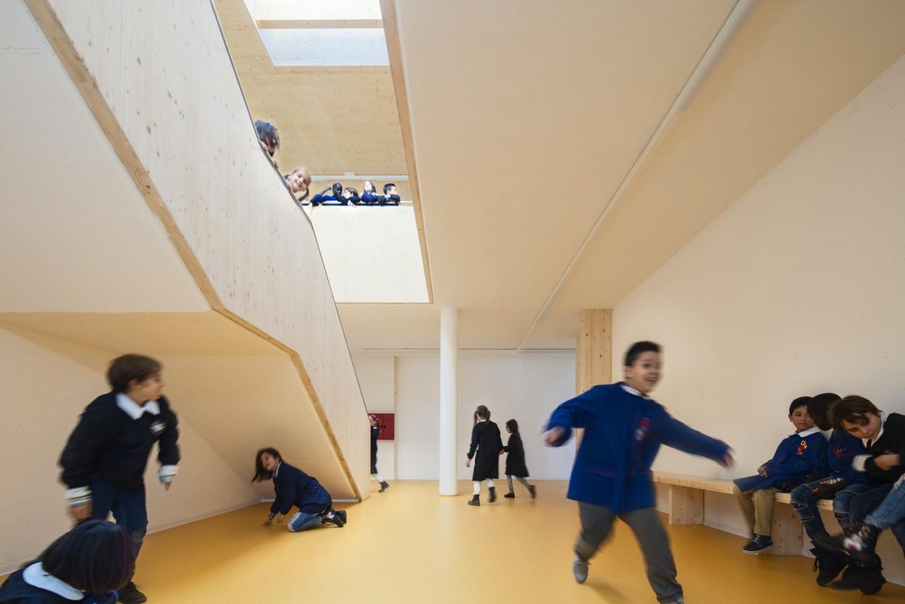 Дизайн итальянской младшей школы
