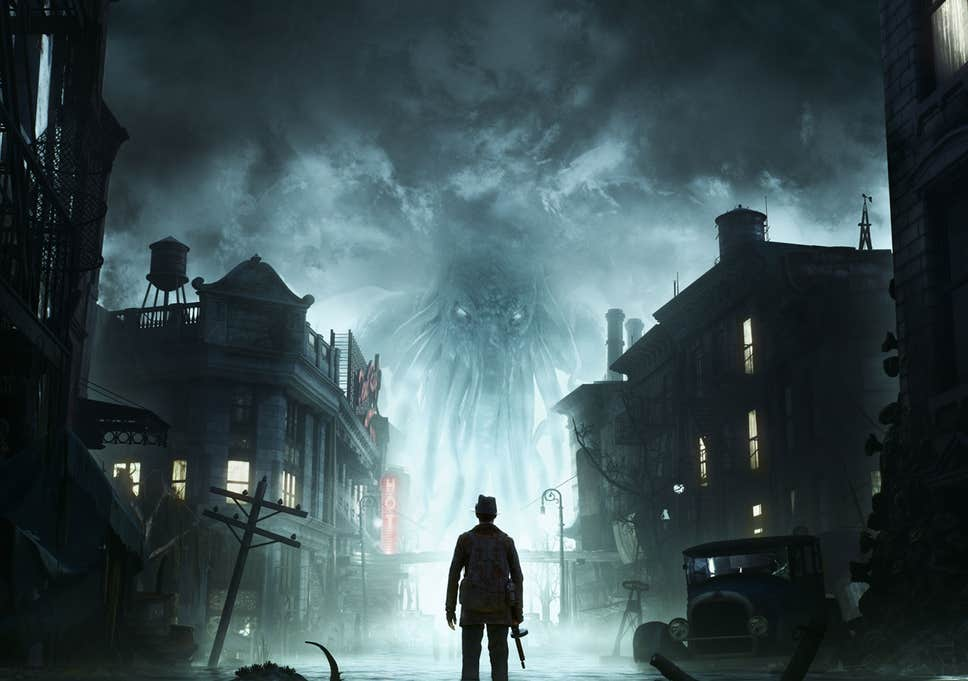 Обзор The Sinking City: Пх'нглуи мглв'нафх Ктулху action,horror,pc,ps,the sinking city,xbox,Игры,обзоры,Хоррор