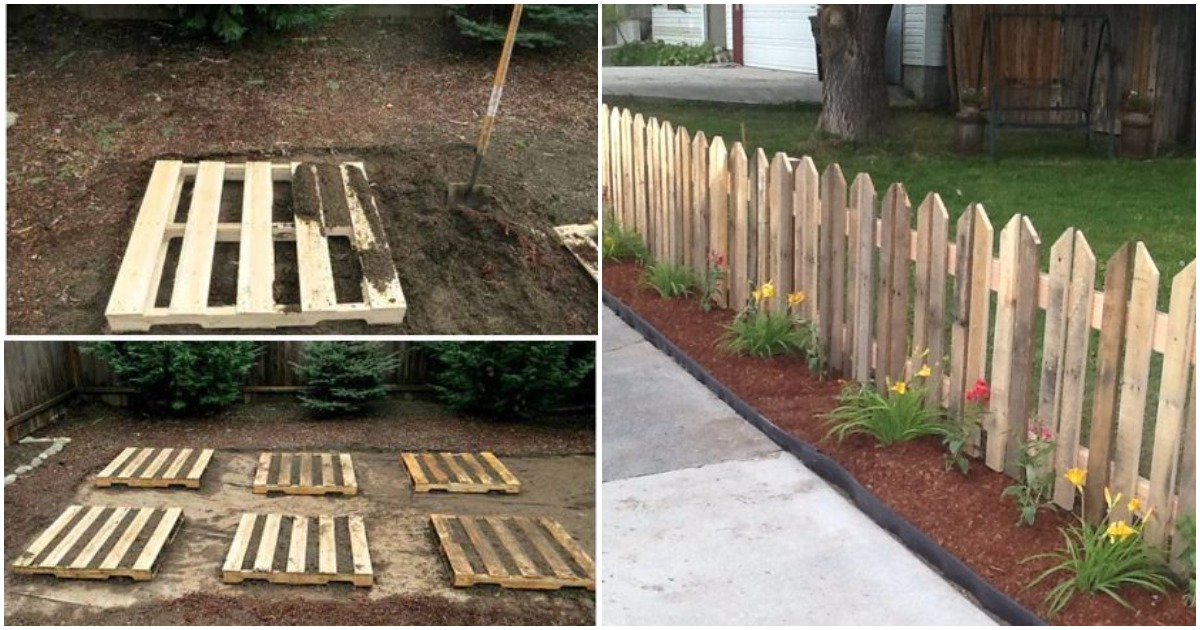 Вы только посмотрите, что могут сделать обычные деревянные поддоны с вашим садом
