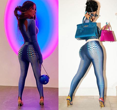 Модная битва: Хлое Кардашьян против Карди Би