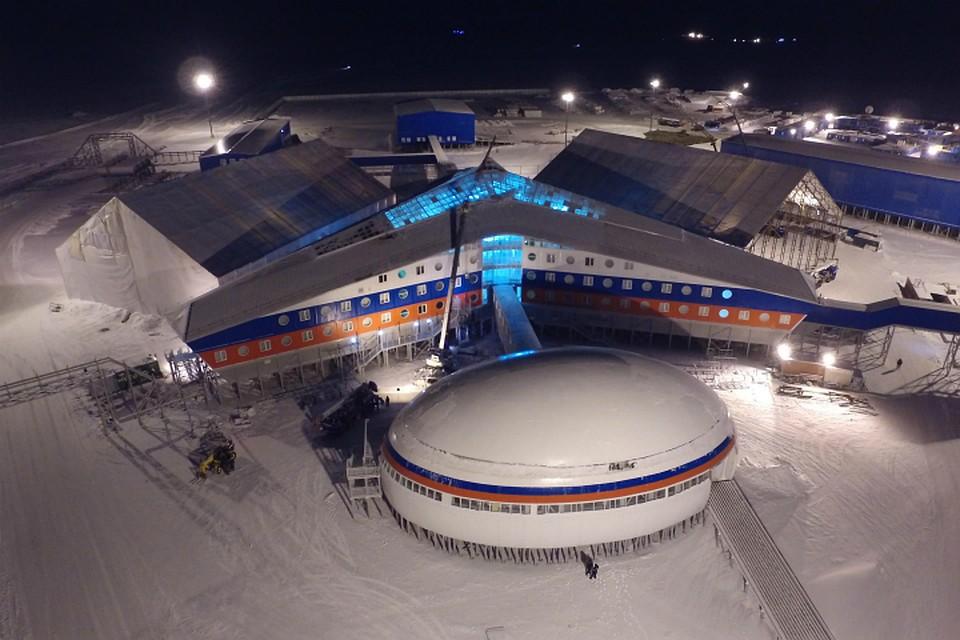 Российская военная база в Арктике. Источник изображения: https://vk.com/denis_siniy