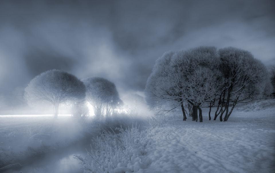 Зимний пейзаж, фотограф Гордеев Эдуард