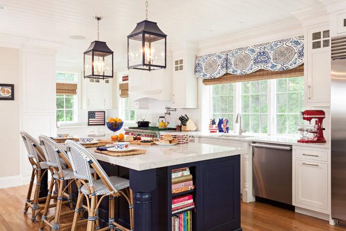 Интерьер кухни от Welch Company Home + Design