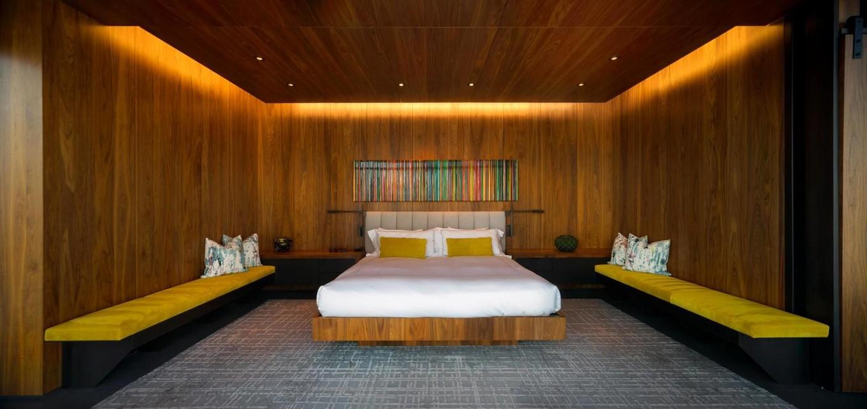 Интерьер апартаментов площадью 825 кв. метров в Далласе