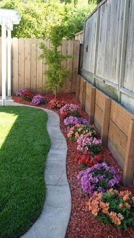 Плавные изгибы, мягкие волны добавят саду изящества и будут всегда радовать своим видом