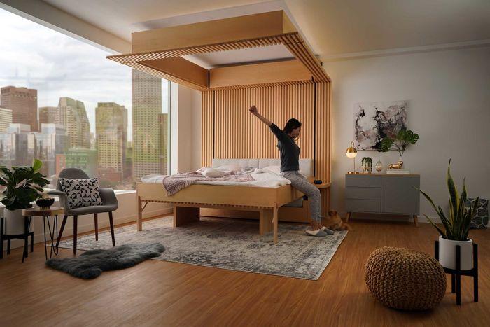 Шкаф с кроватью – игровой автомат для маленьких квартир