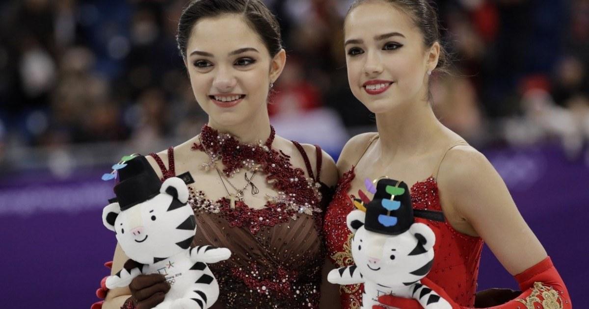 Загитова и Медведева снялись в рекламе японской игры