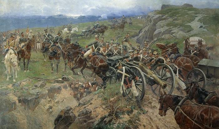 Как 493 русских солда остановили многотысячное войско персов: Спартанцы полковника Карягина