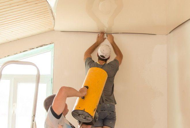 Что нужно знать о натяжных потолках: есть минусы, которые упоминают вскользь