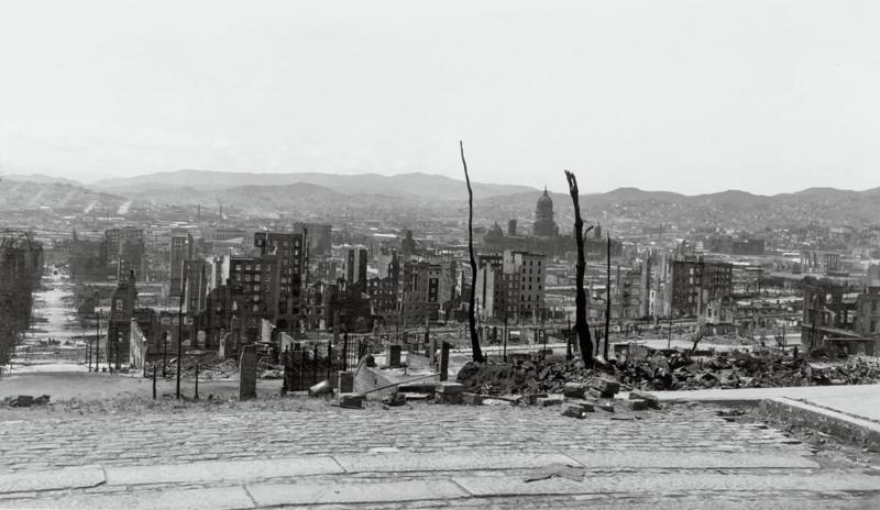 1906 год. Сан-Франциско, разрушенный землетрясением джек лондон, история, фото
