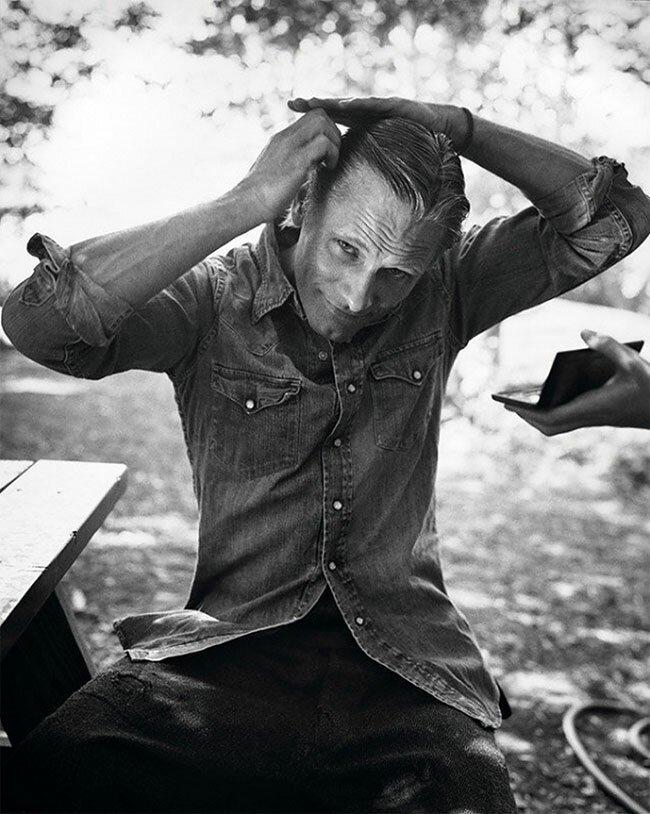 Эмоциональные портреты знаменитостей от Марка Хома