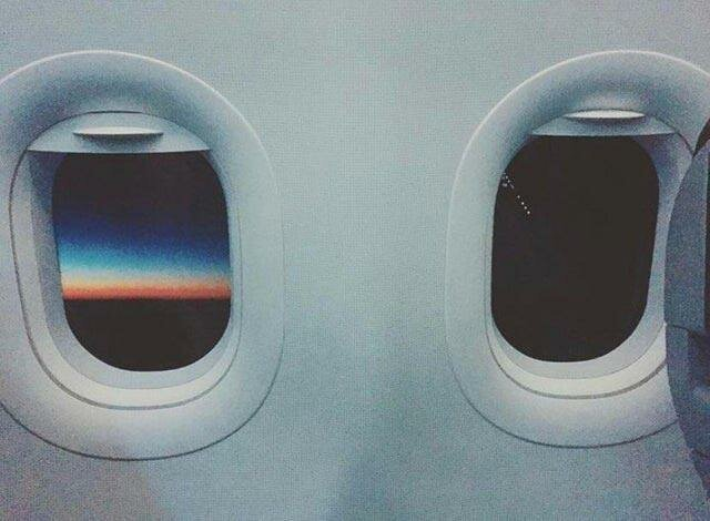 """""""Солнце полностью зашло в моём правое окне, но все еще садилось в левом окне во время моего полета"""" в мире, вещи, подборка, познавательно, удивительно"""