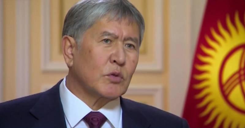 Экс-президент Кыргызстана Ат…