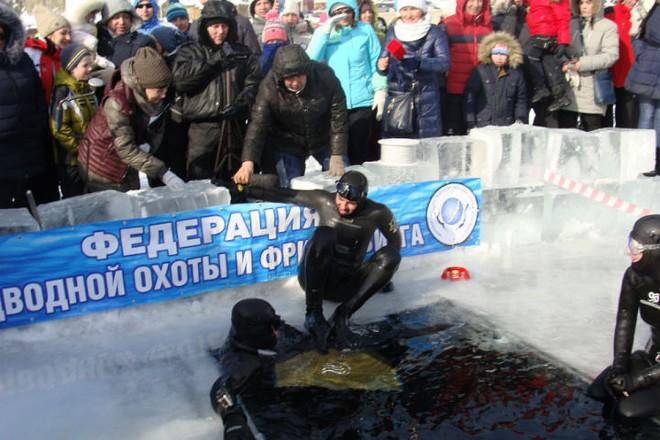 Российский фридайвер установил новый рекорд