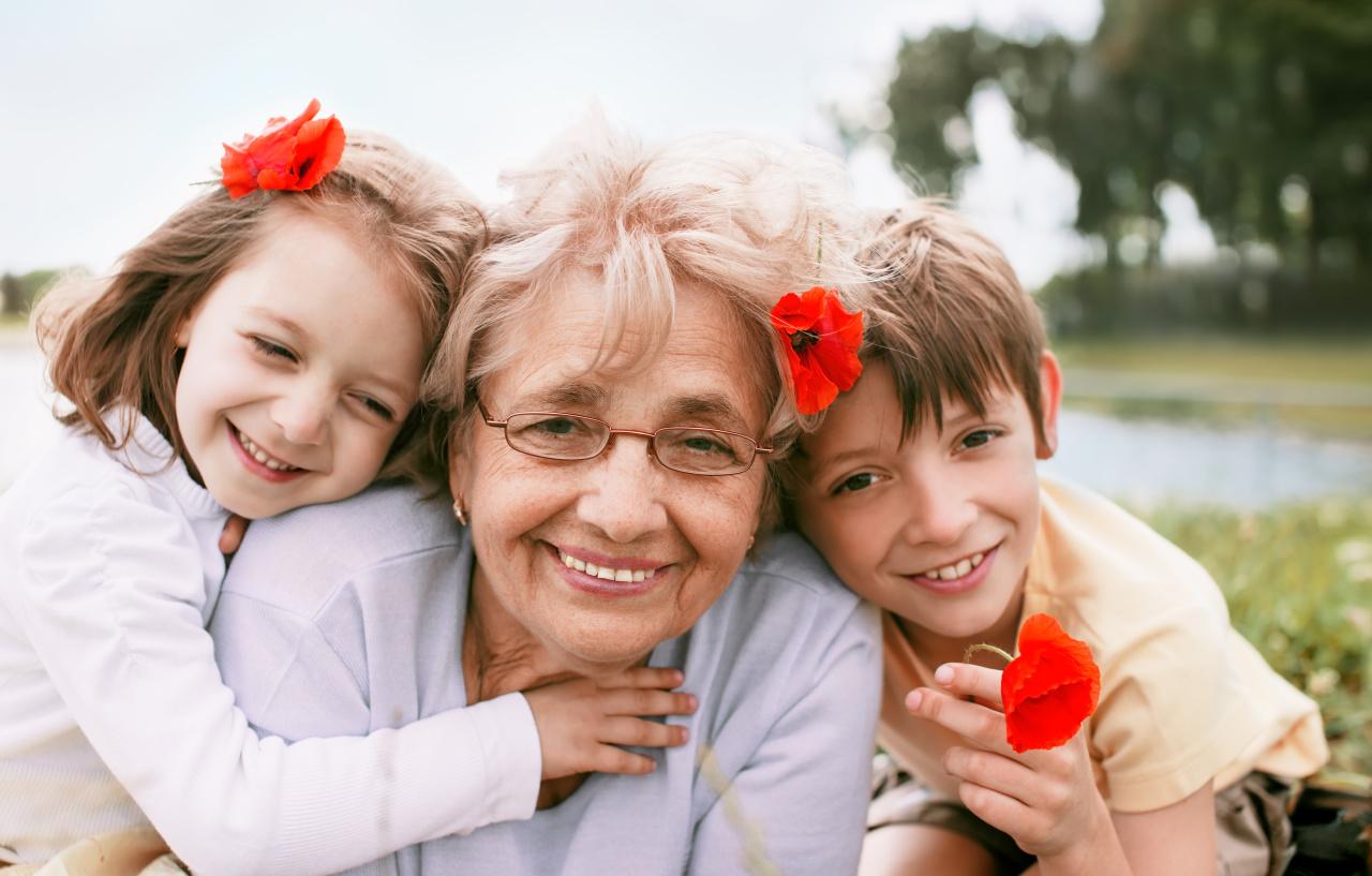 Сочинение ребёнка о бабушке история