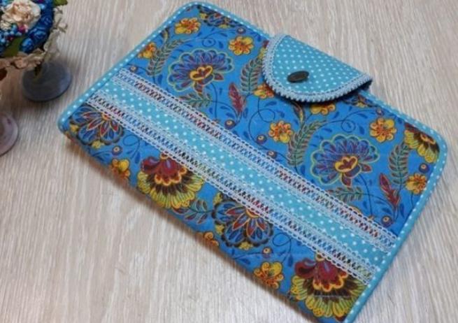 Шьем органайзер-папку для спиц и крючков