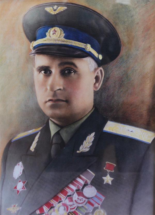 Герой Советского Союза, генерал-майор Николай Павлович Жуган