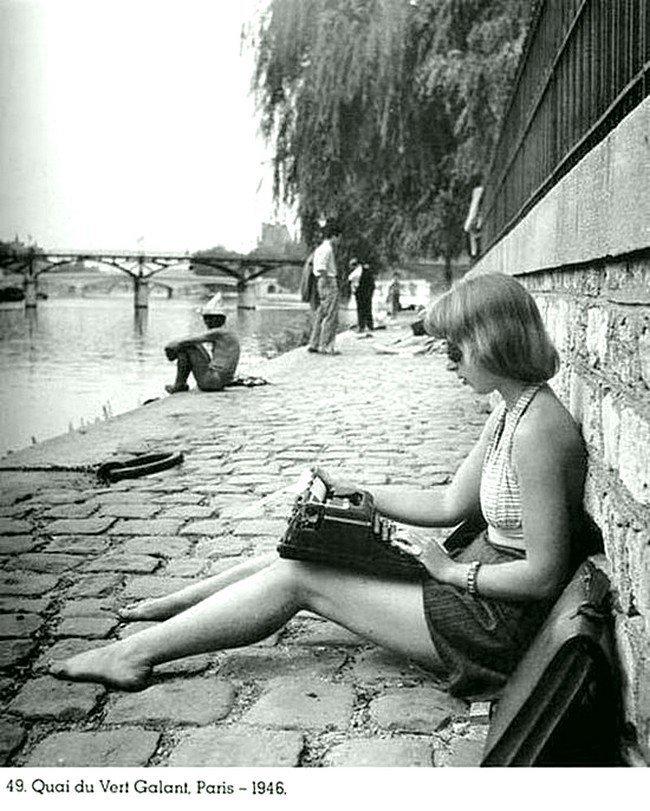 Париж в 1946 году. Весь Мир в объективе, ретро, старые фото